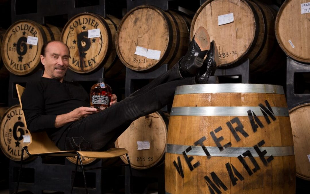Lee Greenwood launches own whiskey to help veterans